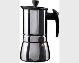 Cafe Ole Stainless Steel 9 Cup Espresso Maker feature image