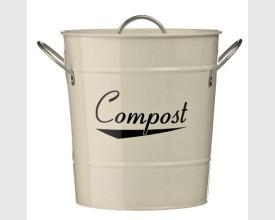 Cream Kitchen Compost Bin feature image