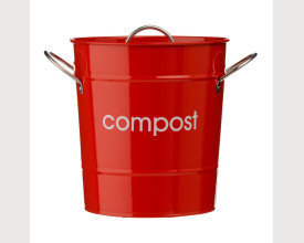 Red Kitchen Compost Bin feature image