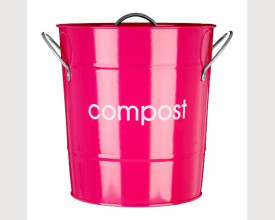 Hot Pink Kitchen Compost Bin feature image