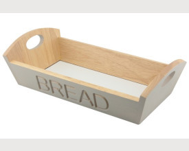 Grey Wooden Bread Basket £6.60 feature image