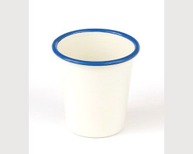 Homecook Enamelware Blue and Cream Enamel Tumbler £2.28 feature image