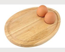 Wooden Breakfast Board Egg feature image