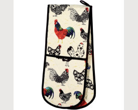 Chicken Double Oven Gloves feature image