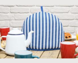 Blue Stripe Tea Cosy feature image