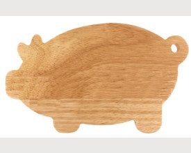 Wooden Pig Breakfast Board £4.30 feature image