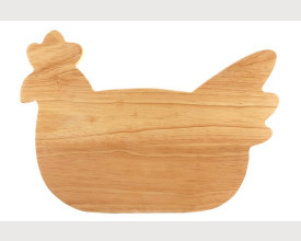 Wooden Chicken Breakfast Board feature image