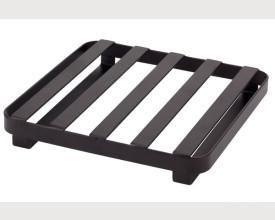 Flat Iron Black Metal Trivet feature image