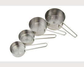 Stainless Steel Set of 4 Measuring Cups feature image