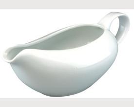 White Ceramic Gravy Boat £1.95 feature image