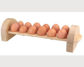 Wooden Egg Rack for 12 Eggs feature image