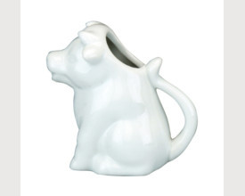 Large Ceramic Cow Milk Jug feature image