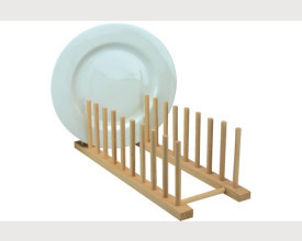 Wooden Plate Rack feature image