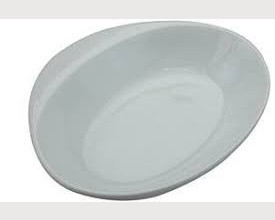 Ceramic White Dish with Handle £1.20 feature image