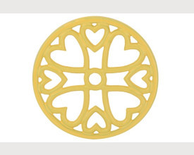 Apollo Round Cast Iron Yellow Trivets From £2.20 feature image