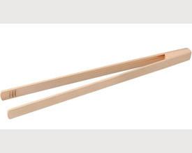 Wooden Kitchen Food Tongs 90p feature image