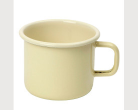 Dexam Vintage Home Buttermilk Cream 9 cm Enamel Mug feature image