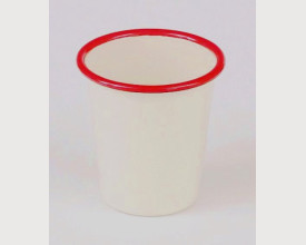 Falcon Housewares Red and Cream Enamel Tumbler £2.28 feature image