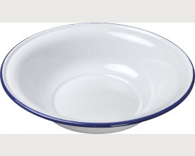 Falcon Housewares 30cm Blue and White Enamel Wash Bowl feature image
