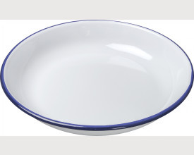 Falcon Housewares Blue and White Enamel Rice Pasta Plates From £1.65 feature image