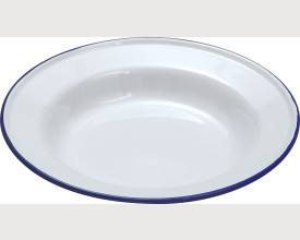 Falcon Housewares Blue and white Enamel Soup Plates From £2.00 feature image