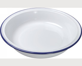 Falcon Housewares Blue and White Round Enamel Pie Dishes From £1.34 feature image
