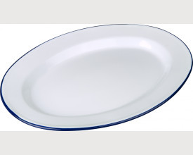 Falcon Housewares Blue and White Oval Plates From £4.48 feature image