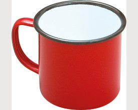 Falcon Housewares Red Enamel Mugs From £2.50 feature image