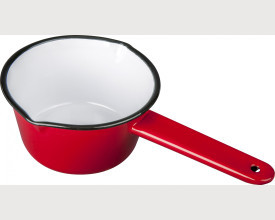 Falcon Housewares 14cm Red Enamel Pan £3.47 feature image