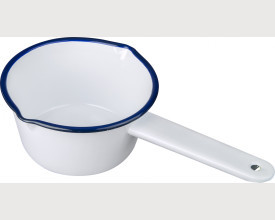 Falcon Housewares 14cm Blue & White Enamel Pan £3.47 feature image