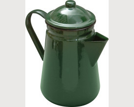 Falcon Housewares Large Green Enamel Coffee Pot feature image