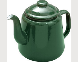 Falcon Housewares Small Green Enamel Tea Pot feature image