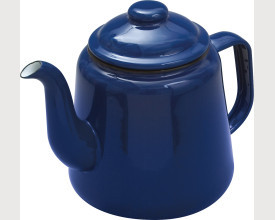 Falcon Housewares Large Blue Enamel Tea Pot feature image