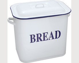 Falcon Housewares Large Blue and White Bread Bin feature image