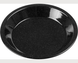 Falcon Housewares Black Round Enamel Pie Dish feature image