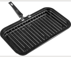 Falcon Housewares Large Black Enamel Grill Pan feature image