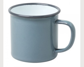 Homecook Enamelware 8cm Grey Enamel Mug feature image