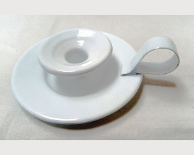 Homecook White Candle Holder £2.30 feature image