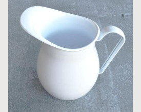 Homecook White Enamel Jug or Pitcher feature image