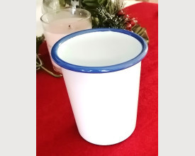 Munder Blue and White Tumbler 400 ml feature image