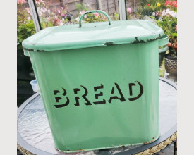 Vintage Green and Black Bread Bin feature image
