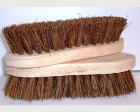 Traditional Bristle Scrubbing Brush feature image