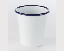 Homecook Enamelware Blue and White Enamel Tumbler feature image