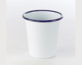 Homecook Enamelware Blue and White Tumbler feature image