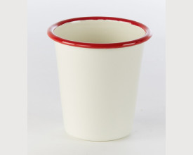 Falcon Housewares Red and Cream Enamel Tumbler feature image